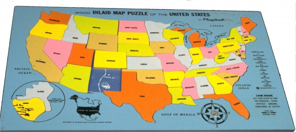 Us States Map Game Puzzle - Maplewebandpc | Printable Map Of Usa Jigsaw Puzzle