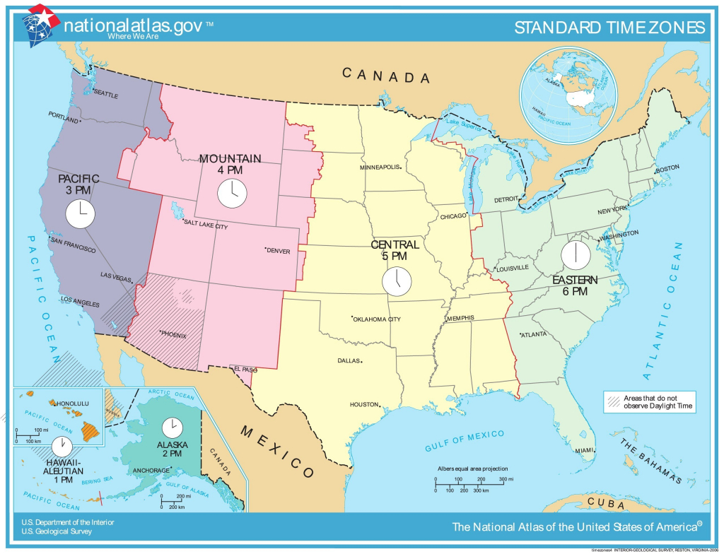 Us Time Zones Mapstates Us Map States Time Zones Timezonemap | Printable Us Timezone Map With States