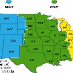 Us Time Zones Printable Map Usa Time Zonearea Code Mdc Usa | Printable Map Of The Usa With Time Zones