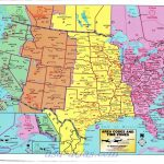 Us Time Zones Printable Map World Time Zone Map In Of Timezones | Us Timezone Map Printable