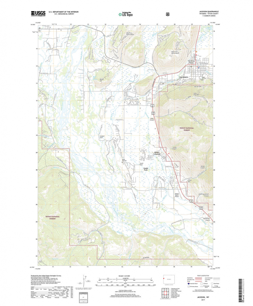 Us Topo: Maps For America | Printable Topographic Map Of The United States