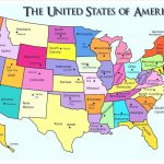 Usa A Small Map Of The United States 7 | Globalsupportinitiative | Small Printable Map Of The United States