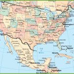 Usa And Mexico Map | Printable Map Of Usa And Mexico