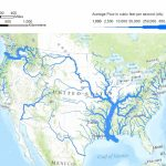 Usa Map Mountains And Rivers Printable Us Physical The United States | Printable Us Map With Rivers
