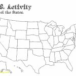 Usa Map Outline Download Elegant Free Printable Map Of The United | Free Printable Blank Map Of The United States Of America