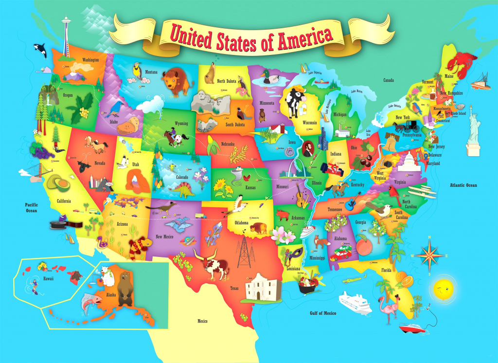 Usa Map Puzzle Rand Mcnally Store Printable United States Best Of | Printable Usa Map For Preschoolers