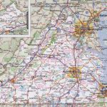Virginia Road Map | Large Printable Road Map Of The United States
