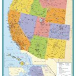West Coast Wall Map   Maps | Printable Map Of West Coast Of Usa