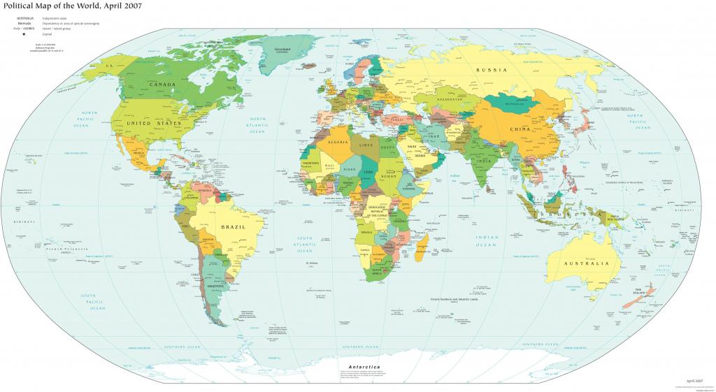 World Map Poster Printable | Printable Maps | Printable Us Map Poster