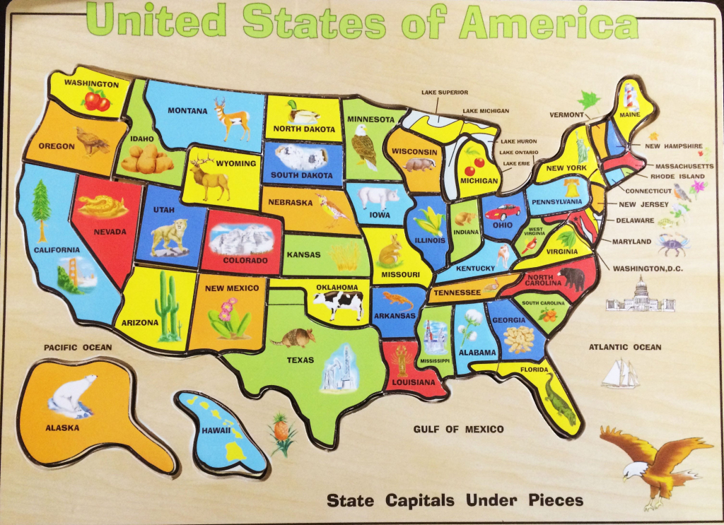 Your Child Learns Map Puzzle Inspirational Yourchildlearns States | Printable Us Map Puzzle